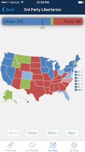 Blank Electoral Map by Introducing 2016 Election Map The Presidential Election App Prmac