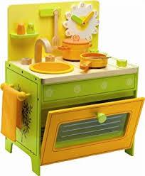 cuisine bois djeco la cuisinière de paquerette djeco amazon fr jeux et jouets