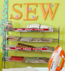 Sewing Room Wall Decor Tour This Stylish Sewing Room How To Sew
