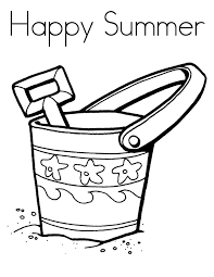 beach coloring pages preschool happy summer coloring pages printable for preschoolers season