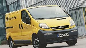 opel van opel to supply vans to deutsche post world net motor1 com photos