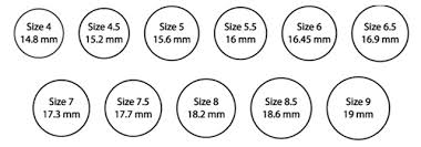 womens ring size engagement ring sizing engagement ring education ring sizes for
