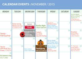 calendar for zilers november 2015 celebrations for inspiration