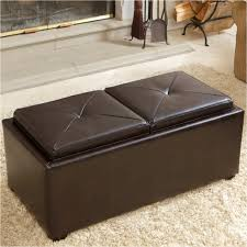 White Leather Storage Ottoman Coffee Table Marvelous Coffee Table With Seating Beautiful Large
