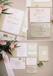 Succulent Wedding Invitations Pink And Gold Succulent Wedding