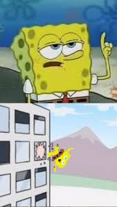 Thrown Out Window Meme - spongebob thrown out boardroom window blank template imgflip