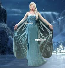 elsa wedding dress j737 frozen snow elsa costume deluxe palace