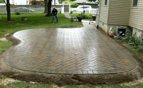 Backyard Pavers Patio Ideas Concrete Paver Patio Stone Paver Patios Pictures