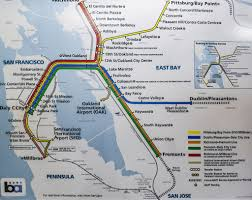 Bart Line Map by Things Bay Area Commuters Can Relate To Her Campus