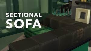 building a sectional sofa the sims 4 creative construction diy sectional sofa sims community