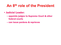 Role Of Cabinet Members 7 Duties Of The President Chief Executive U2013carries Out Nation U0027s