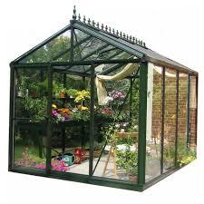spring gardener 8 ft h x 8 ft w x 10 ft l gable greenhouse is