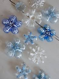 creative ideas diy snowflake tree ornaments from plastic