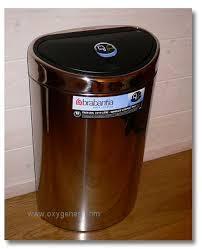 poubelle de cuisine brabantia brabantia poubelle écologique et design modèle design tri