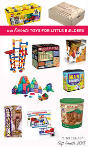 gift guide toys for engineering and building tinkerlab