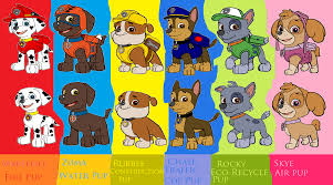 image paw patrol team png paw patrol wiki fandom powered