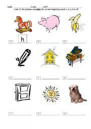 english teaching worksheets beginning sounds learn teach