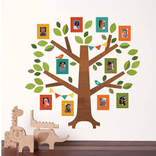 cute family tree wall decal for kids jpg 2048 2048 baby stuff family tree fabric wall decals from petit collage display your family photos with our family tree fabric wall decal comes with decal photo frames to