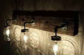 diy mason jar light with iron pipe super pretty and romantic look mason jar lights awesome house lighting
