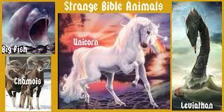 scripture for today are unicorns a fictitious creature mentioned