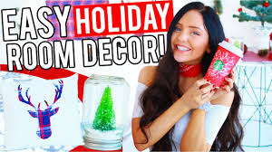 Diy Christmas Decorations For Your Room Diy Christmas Room Decor Easy Decorations For The Holidays 2016