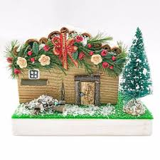 log cabin decorations house