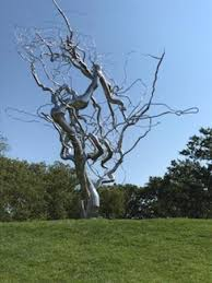 stainless steel tree by paine picture of the nelson atkins
