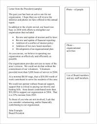 chairman s annual report template annual report format template sle annual report 15 documents in