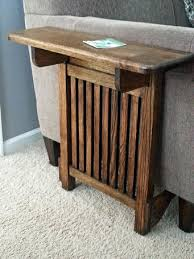 Free Mission End Table Plans by Space Saving End Table Great Idea For Downstairs Depending On