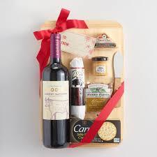 wine gift baskets ideas a cut above wine gift basket world market