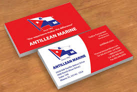 Marine Business Cards Project For Antillean Marine Sign Business Promotion With