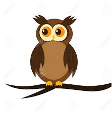 owl sitting on tree branch royalty free cliparts vectors