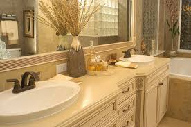 bathroom countertop decorating ideas choosing a material for your bathroom countertops 5 beautiful