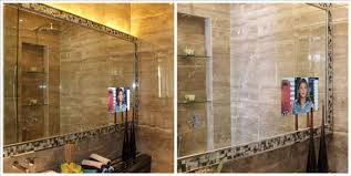 bathroom tv ideas rustic bathroom mirrors tags bathroom mirror distressed