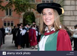 doctoral graduation gown student in doctorate graduation gown stock photo