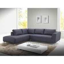 canapé d angle anthracite canapé d angle en tissu gris foncé hailey
