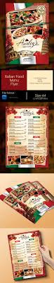 photoshop menu template 143 best food menu templates images on print templates