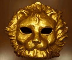 lion mask venetian lion mask