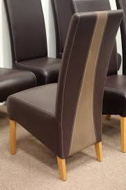 suede dining room chairs dining chairs 42 highback leather dining chair source a dining