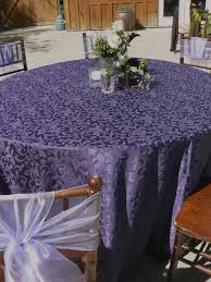 eggplant colored table linens purple round tablecloths best table decoration