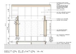 Movie Theater Floor Plan Movie Theater Playhouse Cd U0027s A A Section Elevation Construction