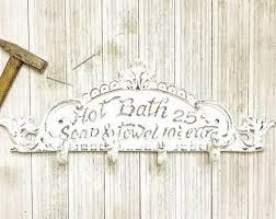 Shabby Chic Bathroom Decor by Bathroom Wall Hook Etsy