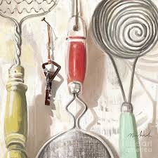 Old Fashioned Kitchen Old Fashioned Kitchen Tools Digital Art By Linda Minkowski