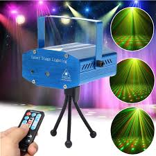 mini r g auto voice led laser stage light projector with
