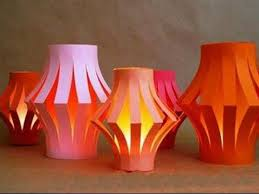 How To Make Paper Light Lanterns - how to make a l lantern cathedral light diy home