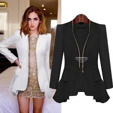 free shipping new european fashion long sleeve zipper slim jacket