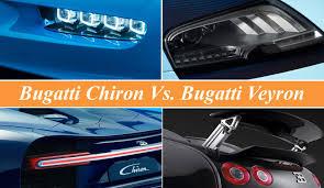 bugatti chiron vs bugatti veyron news top speed