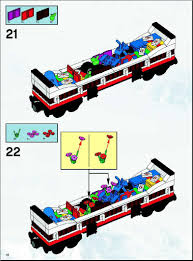 lego holiday train instructions 10173 trains