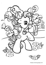 my little pony unicorn coloring pages free printable coloring