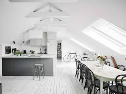 white scandinavian apartment with shabby chic touches digsdigs